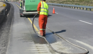Removal of lines from Pavement