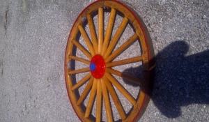 Wooden Wheels (before)