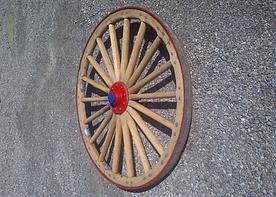 Wagon wheel after